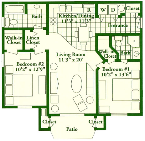 Pinecrest Floor Plan