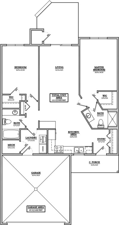 Glen Haven Floor Plan 1