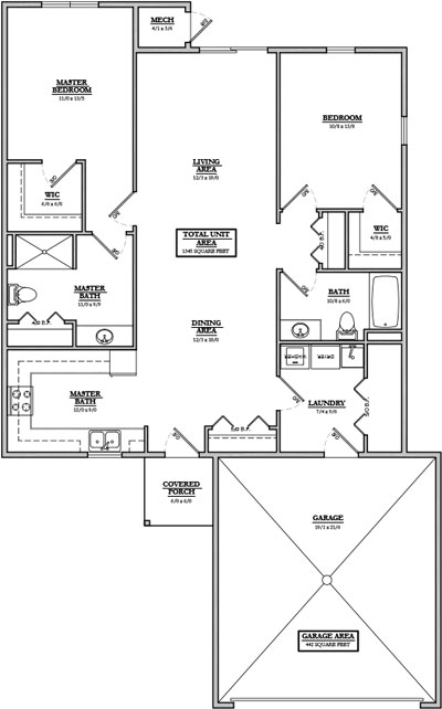 Glen Haven Floor Plan 2