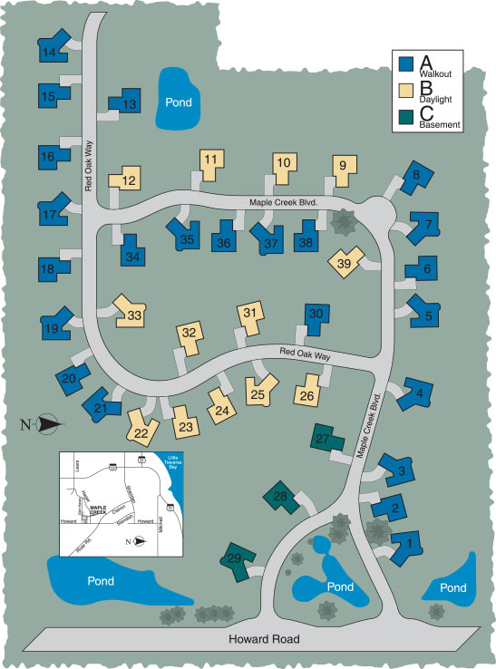 Maple Creek Site Plan